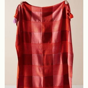 Anthropologie Pacy Throw Blanket